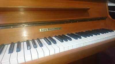 John Brinsmead super small upright piano!
