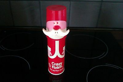 Vintage 1960s Unused tin Of Crazy Foam Father Christmas