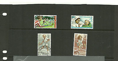 New Zealand Health stamps 1971-85 incl Sports, tennis, Prince Edward
