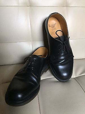Dr Martens Industrial Black Safety Shoes Size 10