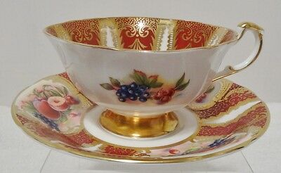 Vintage Paragon Tea Cup And Saucer Royal Appointed