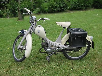 1966 NSU Quickly RARE Classic Moped Vintage scooter pedal & pop motorcycle