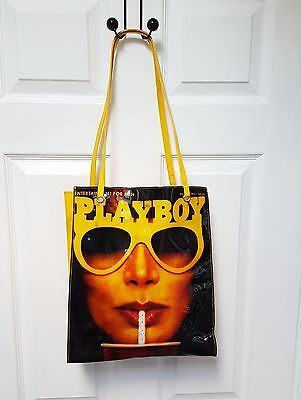 Playboy Vintage 1980's Patent Leather Retro bag
