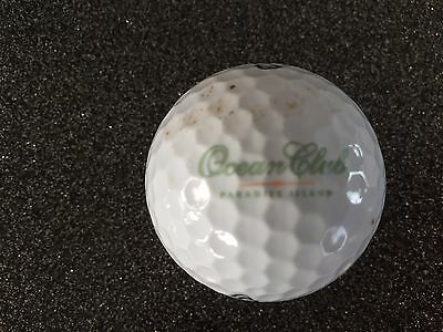 Balle Ball Golf,collector, Ocean club,Nassau Bahamas