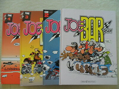 BD Joe Bar Team Tome 1, 2, 3 et 4   Moto