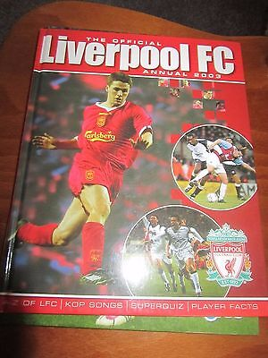 The Official Liverpool Annual 2003