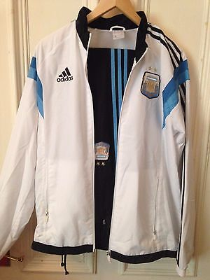 Mens Adidas Track Suit Argentina Trackie Medium M Football Soccer