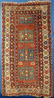Antique Caucasian Rug, Possibly a Chyly or Karabagh (as is)