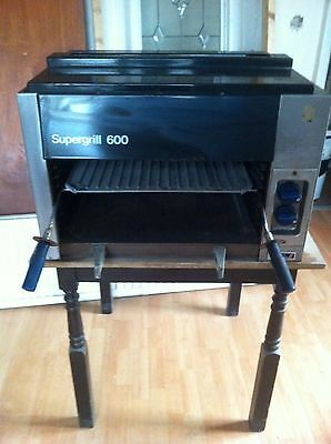 Black Supergrill 600, rarely used