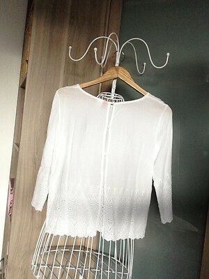 Blouse blanche DIVIDED by H&M Taille 38