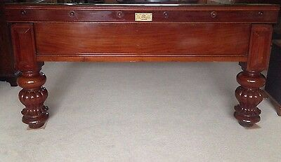 Antique 1880 George Wright & Co 12x6 Snooker Billiard Table Inc Delivery/Set Up