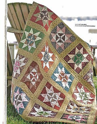 """Odds and Ends quilt kit 6 yards of fabric 52 1/2"""" x 62 1/2"""" not tooo had"""