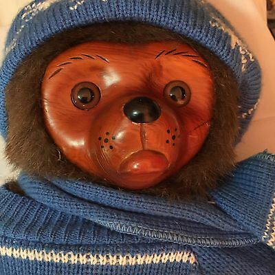 Robert Raikes Blue Sweater 1985 Eric Mohair Bear Doll Numbered Limited Edition