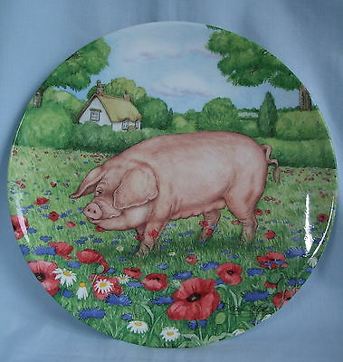 Royal Doulton 'Cornflour' Devon Lap in Pigs in Bloom Collection - NEW