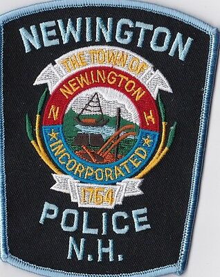 Newington Police Patch New Hampshire NH  NEW!!