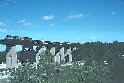 CSX SD50 8610 with train - nice action view -