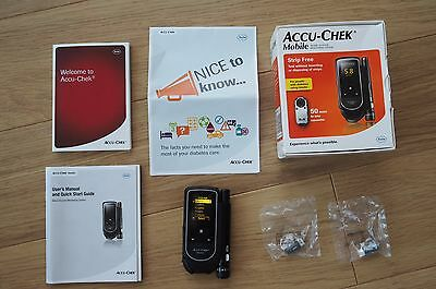 Accu Chek Mobile Blood Glucose Diabetic Monitor/Meter/System + Lancing Device
