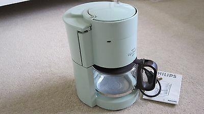 Vintage Philips Cafe Comfort Plus Coffee Maker Machine with instruction booklet