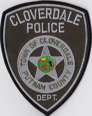 Cloverdale Police Putnam County Police Patch Indiana IN NEW!!