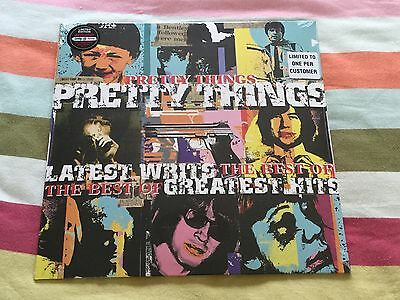 Pretty Things, Latest Writs, Limited Edition Blue Vinyl Album, Factory Sealed