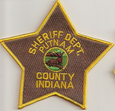 Putnam County Sheriff Dept.  Police Patch Indiana IN NEW!!