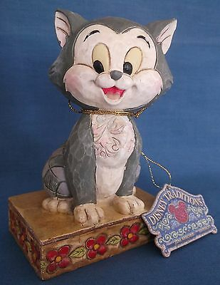 Disney Traditions Showcase Jim Shore Rare Pinocchio Cat Buono Figaro Figurine