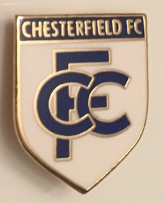 Chesterfield Old Rare Style Football Pin Badge