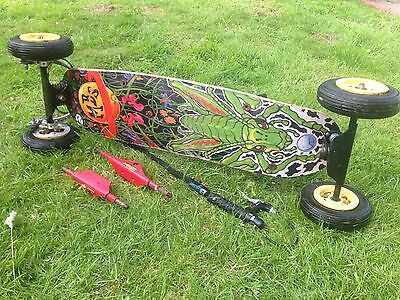 ORIGINAL #rare# Mbs Grasshopper Mountainboard 90s Retro Skateboard Vintage Surf