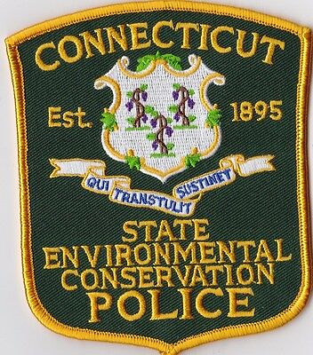 Connecticut State Evironmental Conservation Police Patch Connecticut CT
