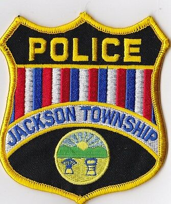 Jackson Township Police Patch Ohio OH