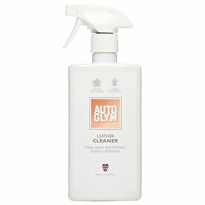Autoglym Leather Cleaner 500ml Cleans & Freshens Leather Upholstery Free P & P