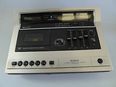 Vintage Sony TC-177SD stereo cassette-corder Japan Dolby 3 Head Recorder