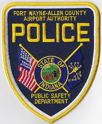 Fort Wayne Allen County Airport Authority Police Indiana Patch NEW!
