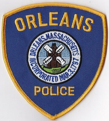 Orleans Police Patch Massachusetts MA NEW!!