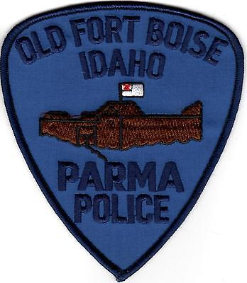 Old Fort Boise Parma Police Patch Idaho ID NEW