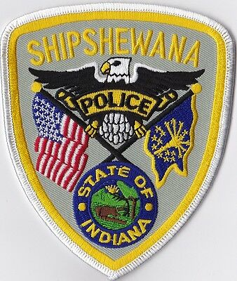 Shipshewana Police patch Indiana IN NEW!!