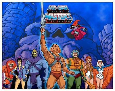 He-Man POSTER Masters of the Universe **VERY LARGE** He Man Skeletor Eternia