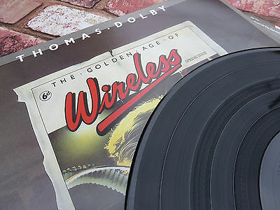 Thomas Dolby – The Golden Age Of Wireless - Vinyl LP - First Pressing - 1982!