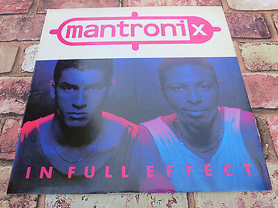 Mantronix ‎– In Full Effect - Vinyl LP - Classic Hip Hop - 1988! + Bonus Items!