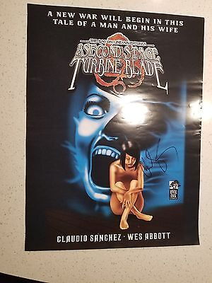 Coheed & Cambria Claudio Sanchez Comic Book Poster