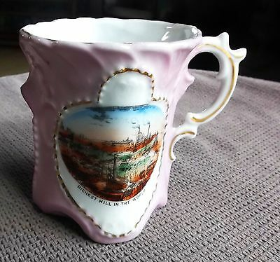 Antique Butte Montana Richest Hill In The World Mining Souvenir Cup Germany