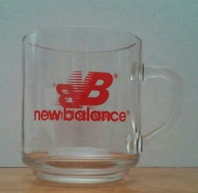 New Balance Clear Glass Mug Luminarc Coffee Cup Advertising Promotion Shoes