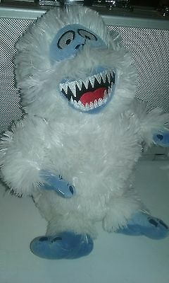 """Abominable Snowman Bumble from Rudolph the Red Nosed Reindeer 12"""" Plush Stuffed"""