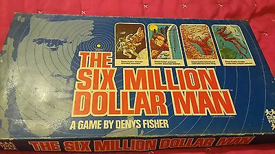 six million dollar man VINTAGE  board game