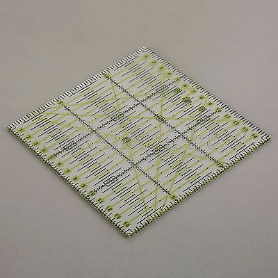 Transparent Rectangle Patchwork Ruler Qulting Sewing Cutting Tailor Tool 15*15cm