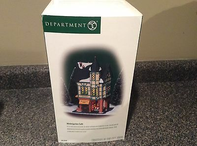 Dept 56 Christmas In The City Series Wintergarten Cafe Brewery In Box