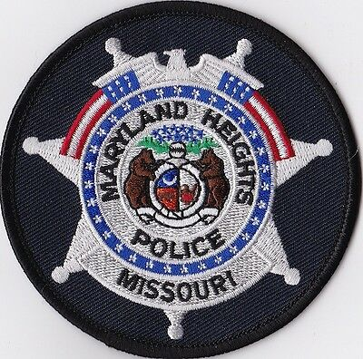 Maryland Heights  Police Patch Missouri MO NEW !!!