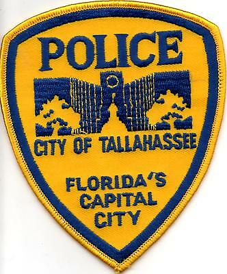 City of Tallahassee Police patch Florida FL NEW