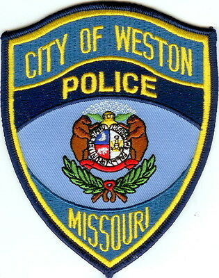 City of Weston Police Patch Missouri MO NEW!!