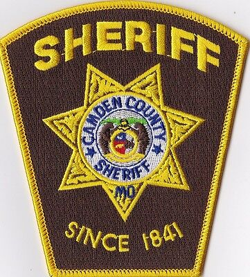 Camden County Sheriff Police Patch Missouri MO NEW